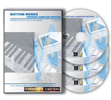 ドラムサンプリング素材集 RHYTHM WORKS VINTAGE SAMPLER ECITION